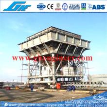 Réservoir de port mobile monté sur rail 100 pi