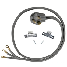 4'  range cords  40/50Amp  3 Wire 10AWG/3C  Gray