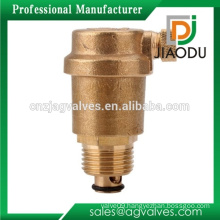 hot sale customized forged npt 1/2'' cw617n brass automatic water pipe air vent valve