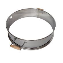 22,5'' Edelstahl Holzkohle Grill Rotisserie Ring