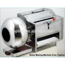 Table-type Small Herbal Coating Pill Making Machine /Inclinable multi-functional bolus-making machine