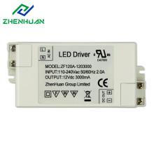36W 12V 3A DC Output Led Lighting Driver