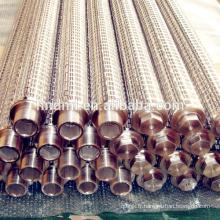 Élément filtrant de fonte de résistance à hautes températures de grillage d'acier inoxydable