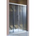 Nouvelle porte de verre d'écran de douche