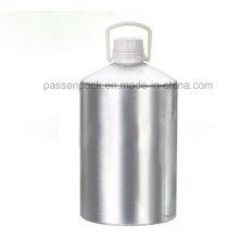 5L garrafa de alumínio recipiente de óleo essencial com Tamper-Proof Cap (PPC-AEOB-015)