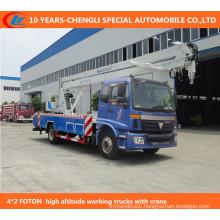 4*2 12-15m High-Altitude Operation Trucks