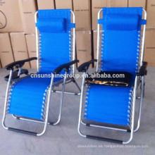 Posición ajustable plegable silla de cubierta