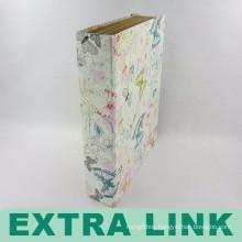 China Supplier High Quality Custom Design Full Printing Handmade Hard Cover Paper Document Folder