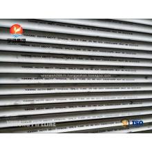 ASTM B677 NO8904 / 904L, 1.4539, tube sans couture d'acier inoxydable