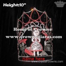 10in Crystal Hollywood Movie Star Pageant Crowns