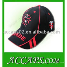 3D embroidery racing caps