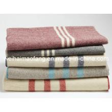 Tejido 100% lana ejército militar manta de lana (NMQ-WA001)