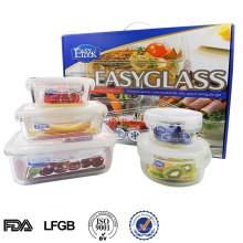 Kleiner hitzebeständiger Glasbehälter