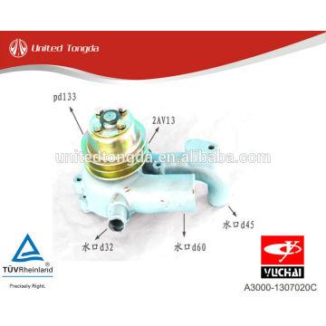 Bomba de água Yuchai motor YC6A A3000-1307020C