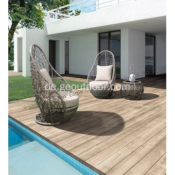 Outdoor Weiden 3-teilig Patio Bistro Set