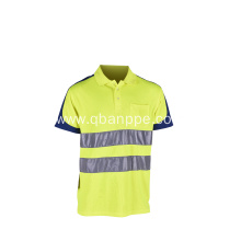 high quality polyester safety sports t-shirt