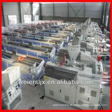 muitas máquinas prontas para a máquina da extrusão da mobília da construção da visita para o plástico de madeira
