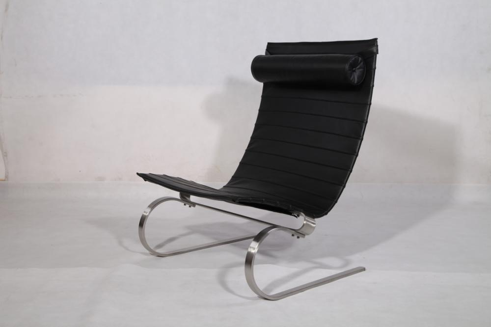 Replica Leather Pk20 Lounge Chair