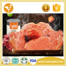 Alta nutrição de alimentos para animais molhados para alimentos para cães