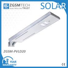 Solar LED-Straßenleuchte 20W integriert Solarleuchte
