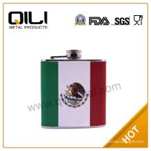 18/8 304 FDA and LFGB high quality gift hip flask