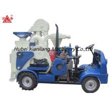 nova maquinaria de moagem de arroz com motor diesel