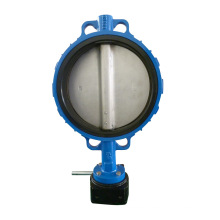 Manual Operared Wafer Type Resilient Butterfly Valve