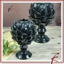 Black Design Wholesale Décoration en céramique en porcelaine