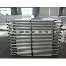 Main frame scaffolding system of aluminum alloy