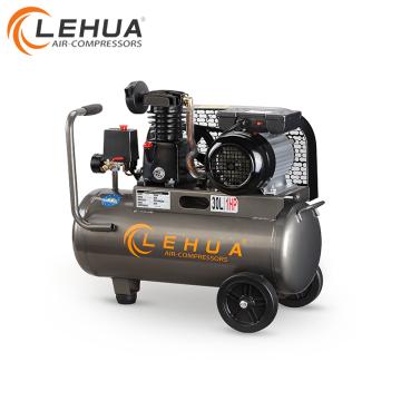 Heißer Verkauf 30L 1HP riemengetriebenen Einzylinder Luftkompressor