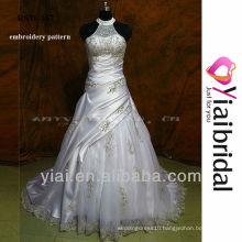 RSW167 high neck halter wedding dresses