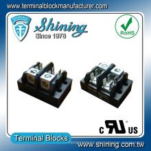 TGP-085-02A 600V 85A 2 polos LED de distribución de alimentación de la tira de terminal