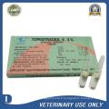 Drogue vétérinaire d'injection de benzoate d'estradiol (4 mg / 2 ml)