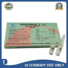Tierarzneimittel von Estradiol Benzoat-Injektion (4 mg / 2 ml)