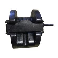 Bouchon de chaîne à rouleaux marin pour navire et bouchon de chaîne en acier moulé