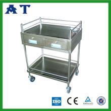 Chariot Instrument hôpital avec tiroirs