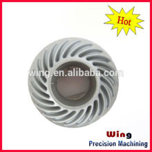 LED ceiling lamp housing casting body with powder coating