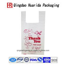 Envases impresos logotipo profesionalmente de encargo de las bolsas de plástico que hacen compras