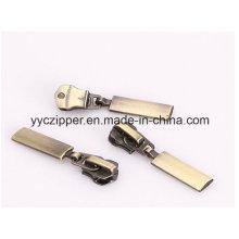 Highly Plating Anti-Brass Metal Zipper Slider para chaqueta
