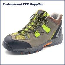 Zementierende weiche Sohle leichte wasserdichte wandernde Sicherheits-Fußbekleidung