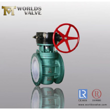 Червячное колесо PFA накладки Plug клапан (WDS)