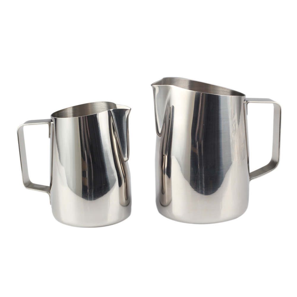 Simple Style Stainless Steel Professional Milk Frother Pitcher