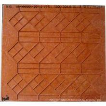 Moule de grille de mosaïque de résistance de la température