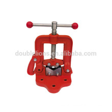 bench vise heavy duty bench pipe vice