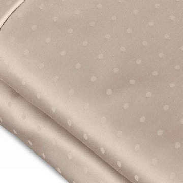 Organic Bomull 700TC Swiss Dot Jacquard Sheet