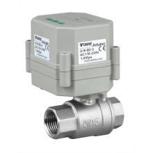 Mini 1/2 Zoll Automatisches Wasserablauf Edelstahl Ventil Elektrisches Steuerventil mit Timer