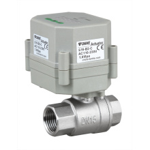 Mini 1/2 Inch Automatic Water Drain Stainless Steel Valve Electric Control Valve with Timer
