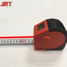 Cinta métrica roja inteligente láser infrarrojo 2 en 1