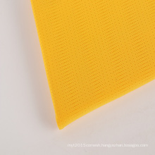 Dry Fit fabric moisture wicking 95%polyester 5%spandex stretch mesh fabric for sportswear