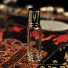 8ml 10ml 30ml Small Glass Perfume Bottle with Metal Lid